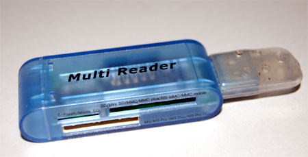 Multiple Card Reader