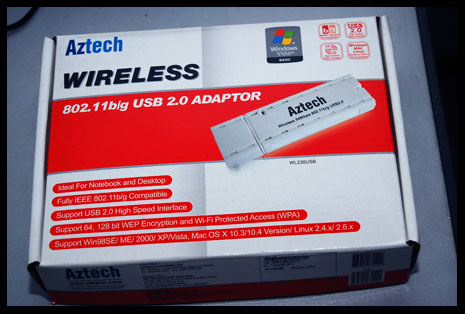Wireless Aztech Adapter