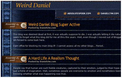Fixed Post Error on InfoCreek Blogger Theme