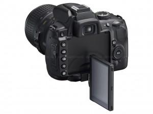 Nikon D5000 Swivel Mode