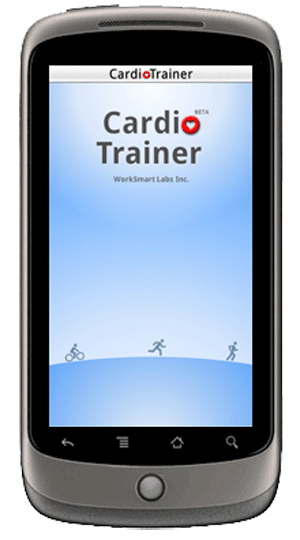Cardio Trainer Interface