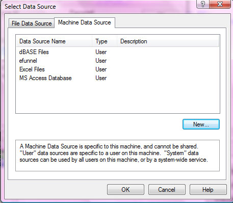 Select QlikView data source