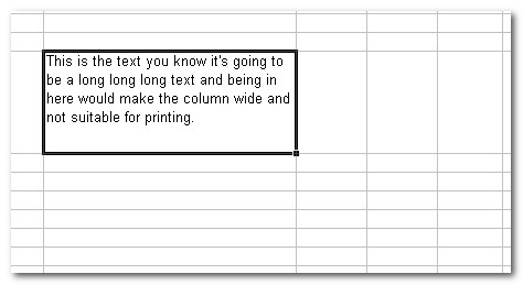 Text Wrapped Excel Result