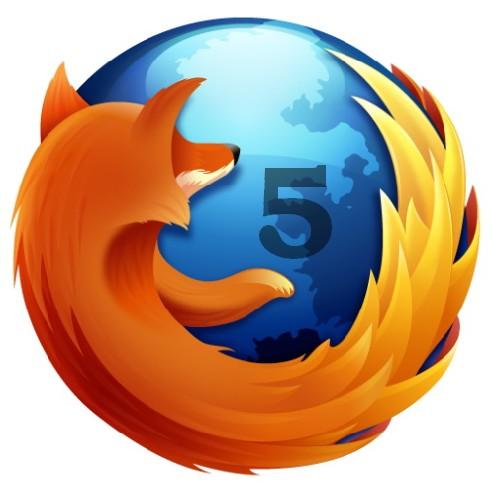 Firefox 5 Logo