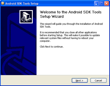 Android SDK Install 1