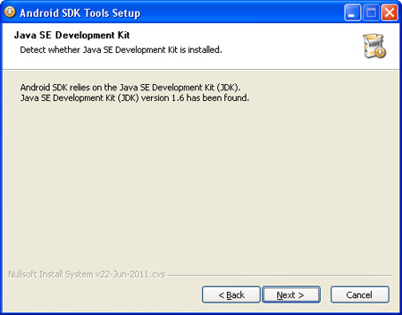 Android SDK Install 3