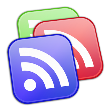 Multiple Google Reader Logo