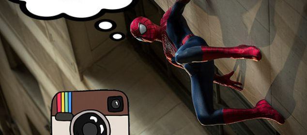 spiderman instagram hashtag